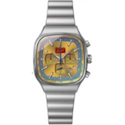 Onitsuka Tiger Square Chronograph Model silver/yellow